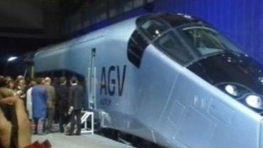 l'AGV peut dépasser les 360 KM/h