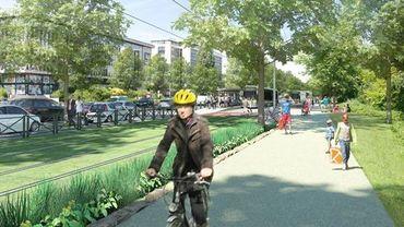 Un tram, plus d'espace pour les cyclistes et les piétons, le Boulevard de la Woluwe... dans 2 ans