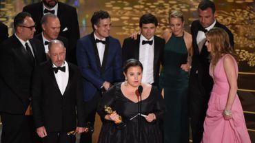 """La cérémonie de ce dimanche, où la saga journalistique """"Spotlight"""" a triomphé, a réuni 34,3 millions de téléspectateurs"""