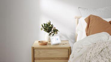 La deuxième génération de Google Nest Hub est capable d'analyser la qualité de votre sommeil.