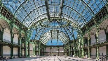"""Le Grand Palais de Paris, où l'exposition """"Monumenta"""" se tient tous les deux ans"""