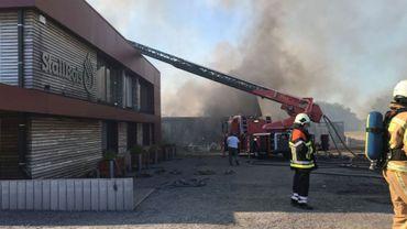 Le 28 juin dernier, l'entreprise de travail adapté Stallbois, située à Etalle prenait feu.