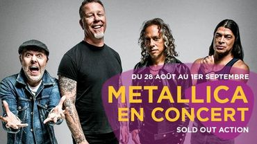 Metallica en Belgique avec Classic 21