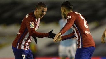 Football : Antoine Griezmann et Yannick Carrasco