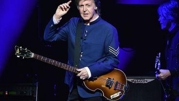 Paul McCartney joue toujours sur l'ampli de ses 14 ans