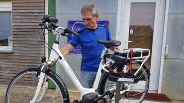 Benoit Thiry, vélociste à Messancy