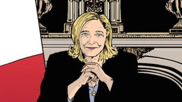 La Présidente, par François Durpaire et Farid Boudjellal. Aux Arènes.