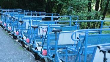 L'accident est survenu durant le weekend sur le circuit touristique des draisines de la Molignée.