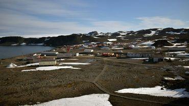 La base chilienne antarctique Eduardo Frei, le 10 mai 2020