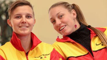 Kirsten Flipkens et Yanina Wickmayer