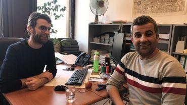 Hamoud, 37 ans, est arrivé en Belgique en novembre 2015. Il espère bientôt obtenir la nationalité belge.
