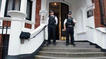 """La Grande-Bretagne """"déterminée"""" à extrader Julian Assange"""