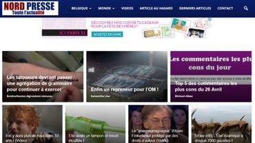 """Le site NordPresse """"n'est pas de nature journalistique"""""""