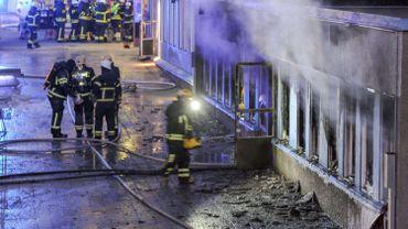 Incendie d'une mosquée le 25 décembre en Suède