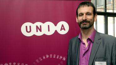 Patrick Charlier, directeur francophone d'Unia, le Centre fédéral pour l'égalité des chances
