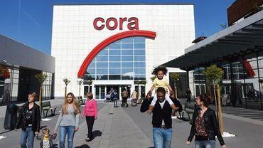 L'hypermarche Cora de Rocourt, sous haute tension