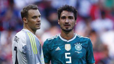 """Neuer: """"Une heure sombre pour le football allemand"""""""
