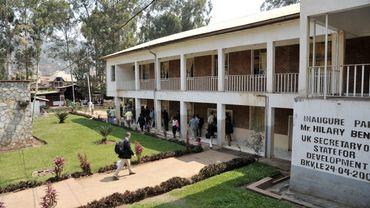 Vue de l'hôpital Panzi à Bukavu