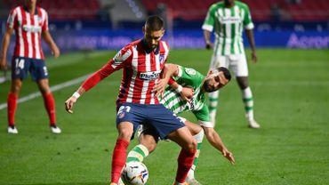 Atlético Madrid : Yannick Carrasco blessé à la cuisse droite
