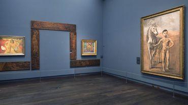 """""""Le Meneur de Cheval"""" de Picasso sera exposé pour la première fois aux côtés d'un chef-d'oeuvre du Musée d'Orsay, le """"Cheval Blanc"""" de Paul Gauguin"""