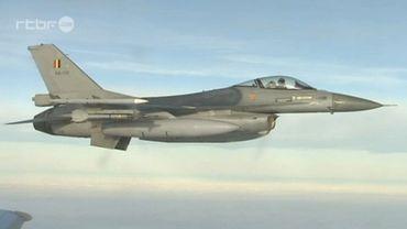 Les F16 belges protègent l'espace aérien balte