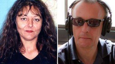 Photomontage non daté fourni le 2 novembre 2013 par RFI montrant Ghislaine Dupont et Claude Verlon