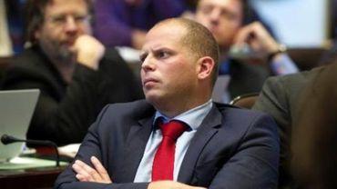 Theo Francken, ministre de l'Asile et des Migrations