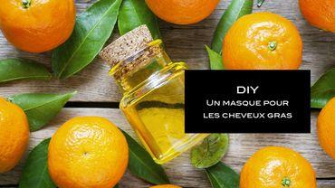 DIY Beauté : un masque à la mandarine pour les cheveux gras