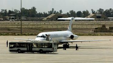 L'aéroport de Bagdad en avril 2010