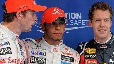 Jenson Button et Lewis Hamilton