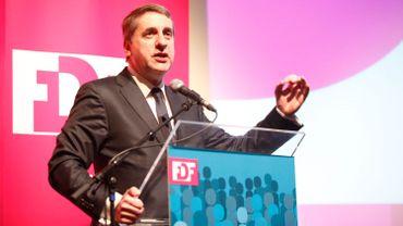 Olivier Maingain est actuellement le plus vieux président de parti en Belgique