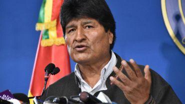 Contestation en Bolivie: Evo Morales annonce la convocation de nouvelles élections