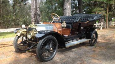 Cette Mercedes de 35ch de 1909, mise aux enchères par Bonhams le 12 juillet 2014, est estimée entre 480.000 et 680.000 euros