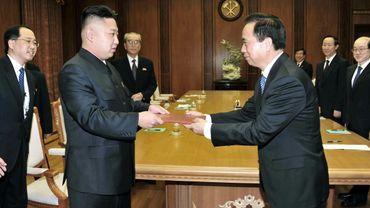 Kim Jong-Un et Xi Jinping en novembre 2012.