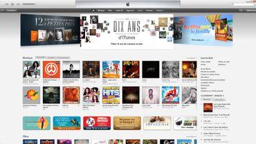 L'iTunes Store a été lancé le 28 avril 2003, aux Etats-Unis.