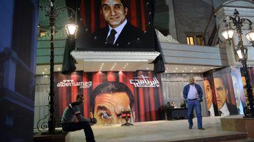 Des posters de l'humoriste égyptien Bassem Youssef