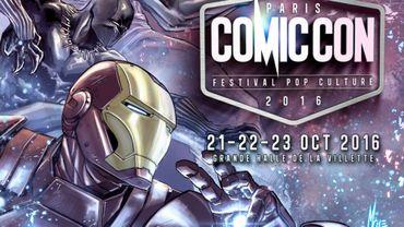 L'affiche officielle du Comic Con Paris 2016 est une création signée Marco Checchetto