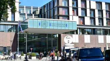 L'hôpital universitaire de Hambourg-Eppendorf en Allemagne.