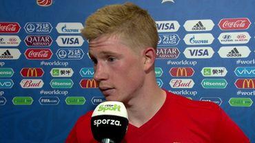 """Kevin De Bruyne élu homme du Match par la FIFA: """"On est très fier d'avoir gagné"""""""