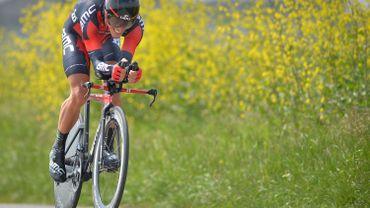 """Cyclisme: Philippe Gilbert: """"Je suis très content de ma prestation"""""""