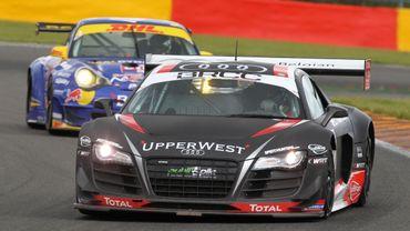 L'Audi R8 victorieuse à Spa