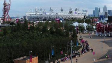 Le parc olympique à Londres le 21 juillet 2012