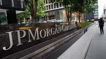 Le siège de la banque JP Morgan à New-York, le 12 août 2014