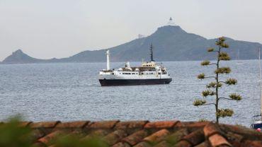Illustration - Importante pollution au large de la Corse suite à une collision entre deux navires marchands
