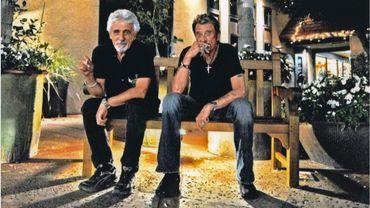 Johnny Hallyday, le roi des Rockeurs et Daniel Angeli, le roi des Paparazzis