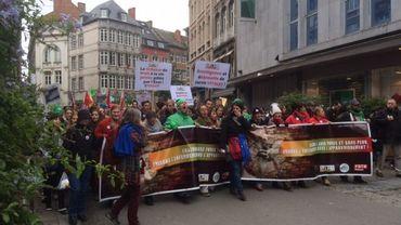 1500 à 2000 manifestants dans les rues de Namur