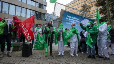 Grève dans le non marchand bruxellois pour une revalorisation de 100 millions par an