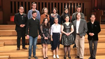Les 12 finalistes du Concours Reine Elisabeth 2018
