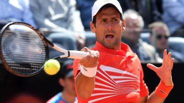 Le N.1 mondial Novak Djokovic qualifié pour les huitièmes à Rome