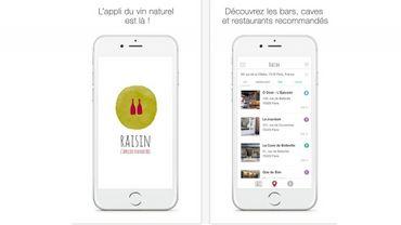 """""""Raisin"""" propose cartographie des points de vente où les œnophiles trouveront des vins nature."""